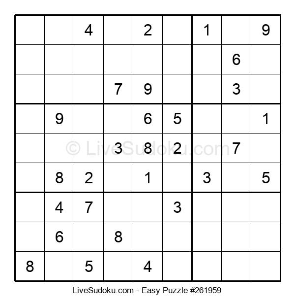 Beginners Puzzle #261959