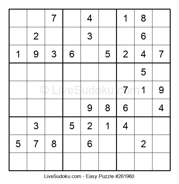 Beginners Puzzle #261960