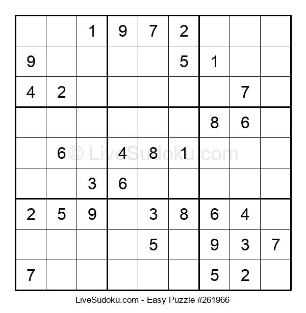 Beginners Puzzle #261966