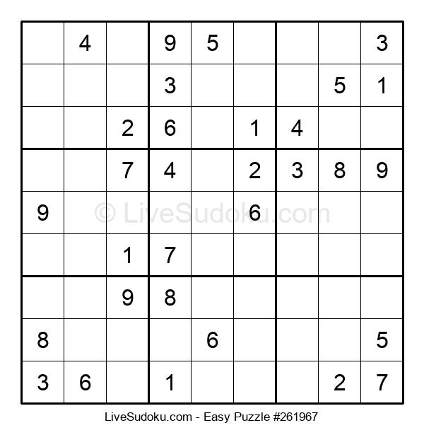 Beginners Puzzle #261967