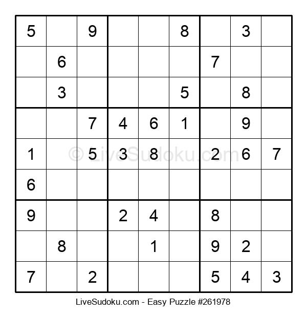 Beginners Puzzle #261978