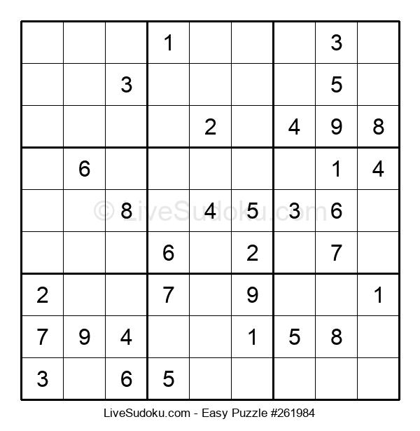 Beginners Puzzle #261984