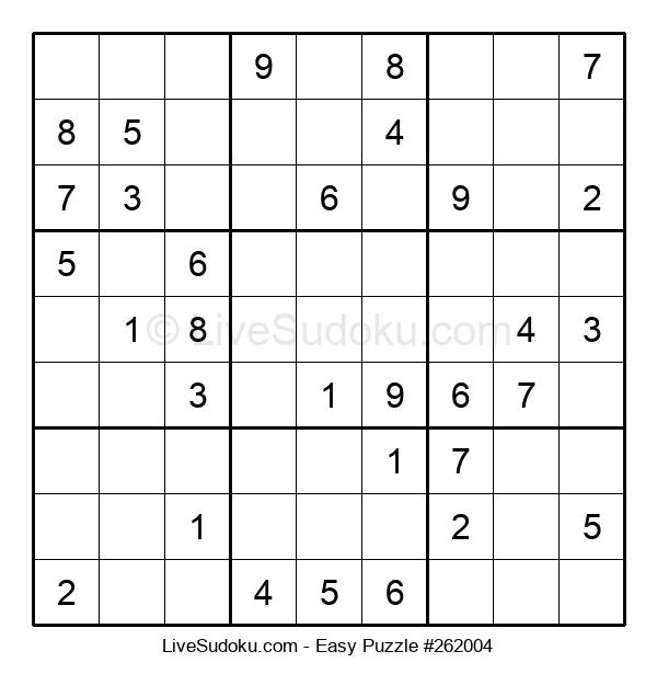 Beginners Puzzle #262004