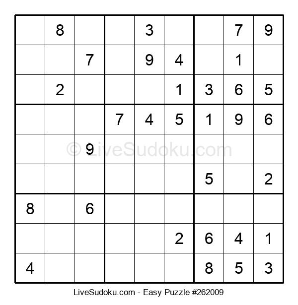 Beginners Puzzle #262009