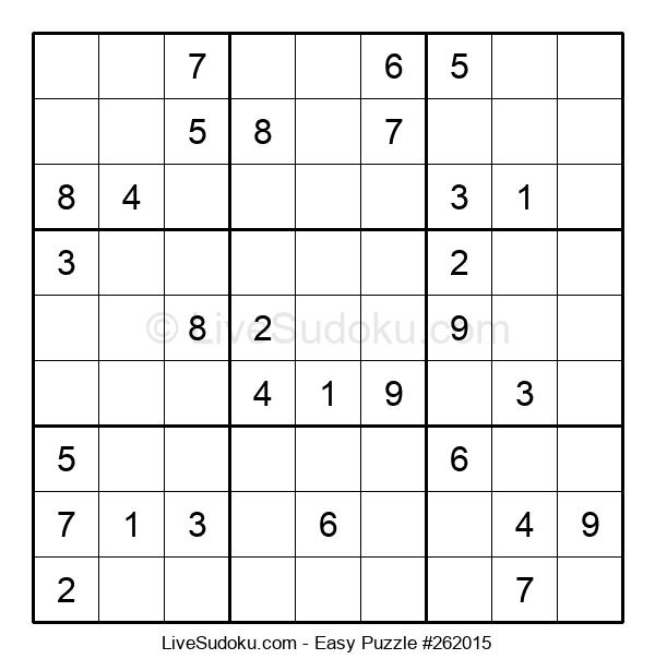 Beginners Puzzle #262015