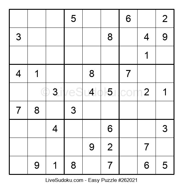 Beginners Puzzle #262021