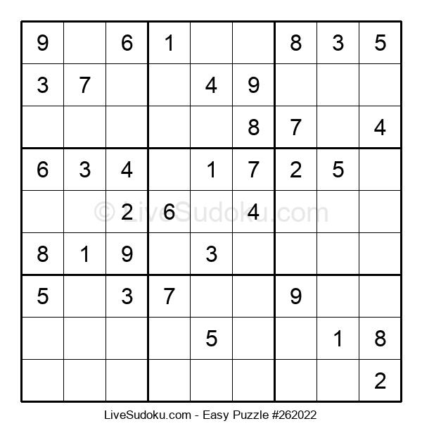 Beginners Puzzle #262022