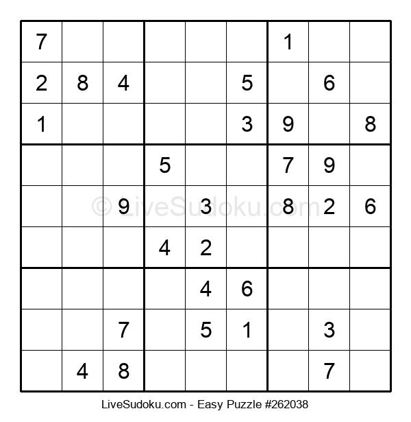 Beginners Puzzle #262038