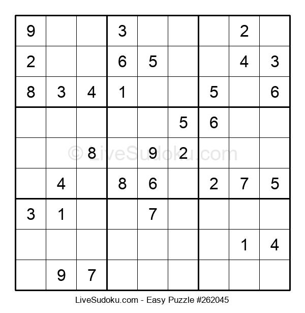 Beginners Puzzle #262045
