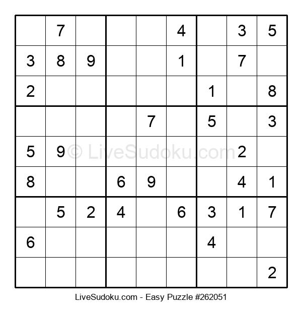 Beginners Puzzle #262051