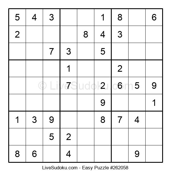 Beginners Puzzle #262058