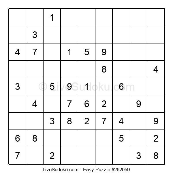 Beginners Puzzle #262059