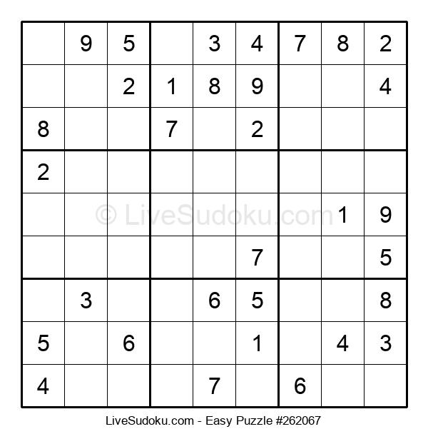 Beginners Puzzle #262067