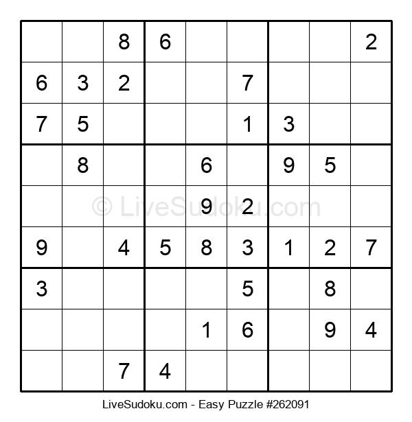 Beginners Puzzle #262091