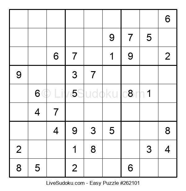 Beginners Puzzle #262101