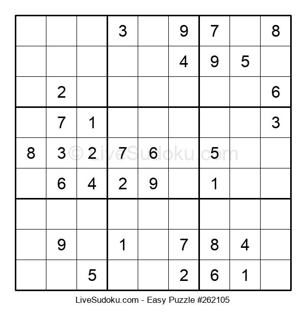 Beginners Puzzle #262105
