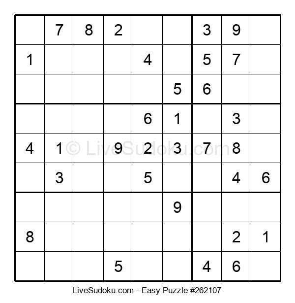 Beginners Puzzle #262107