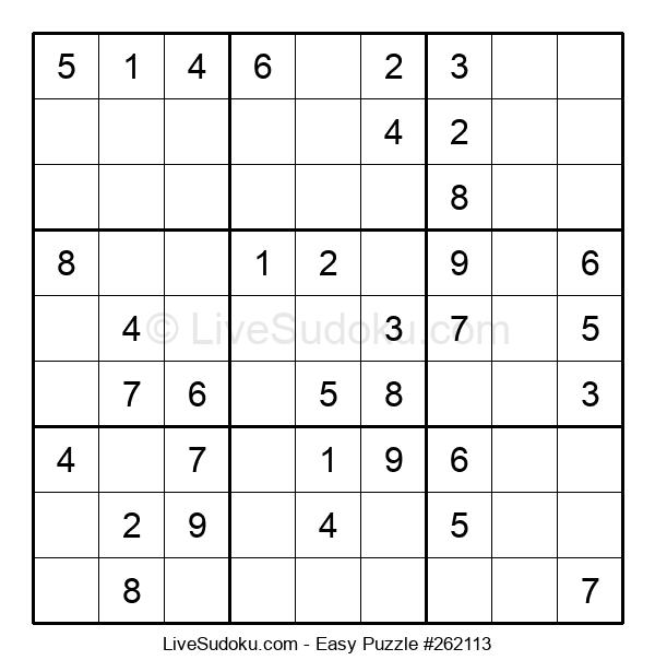 Beginners Puzzle #262113