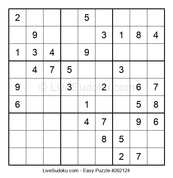 Beginners Puzzle #262124