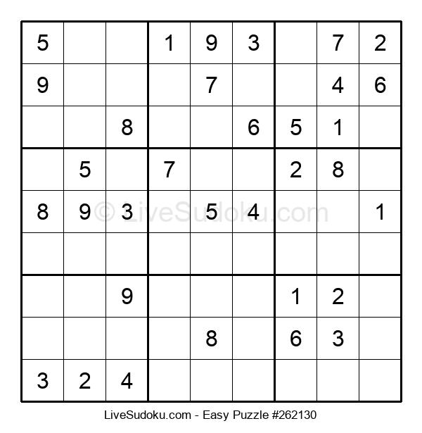 Beginners Puzzle #262130