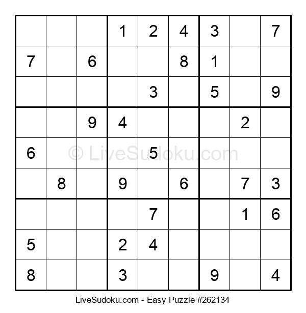 Beginners Puzzle #262134