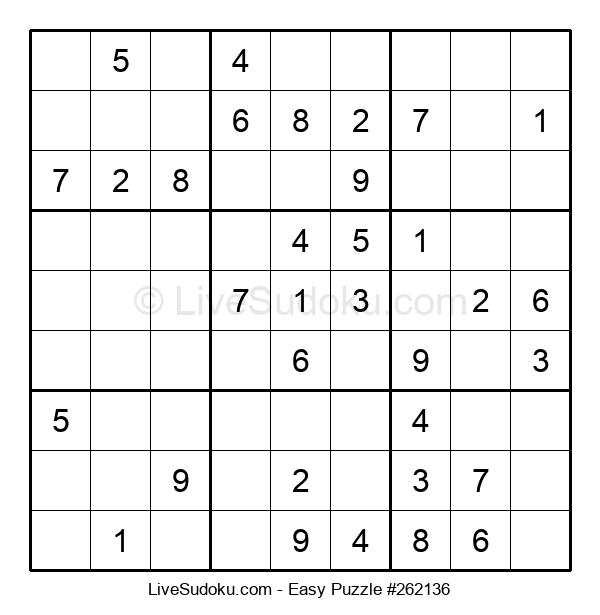 Beginners Puzzle #262136