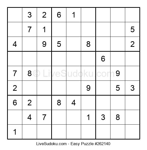 Beginners Puzzle #262140