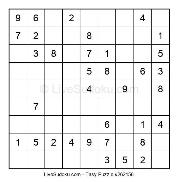 Beginners Puzzle #262158