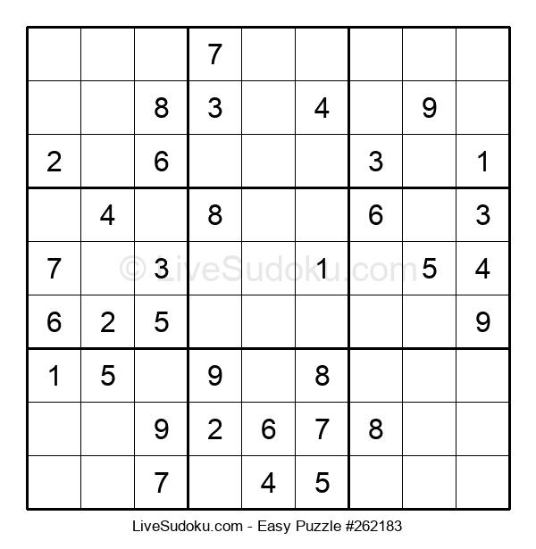 Beginners Puzzle #262183
