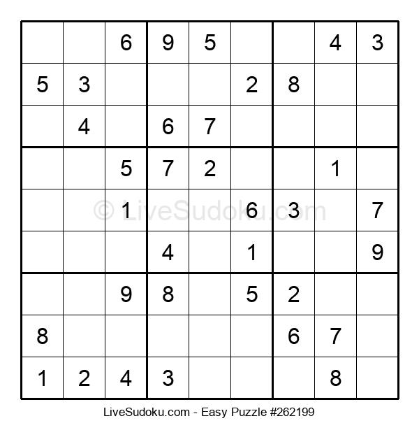 Beginners Puzzle #262199
