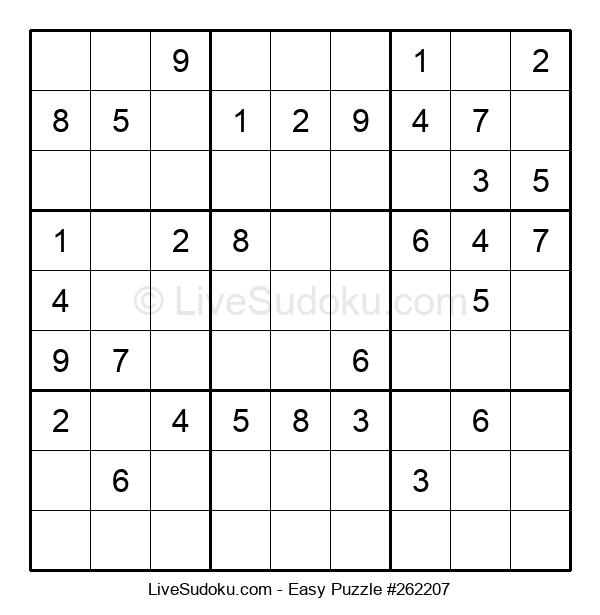 Beginners Puzzle #262207