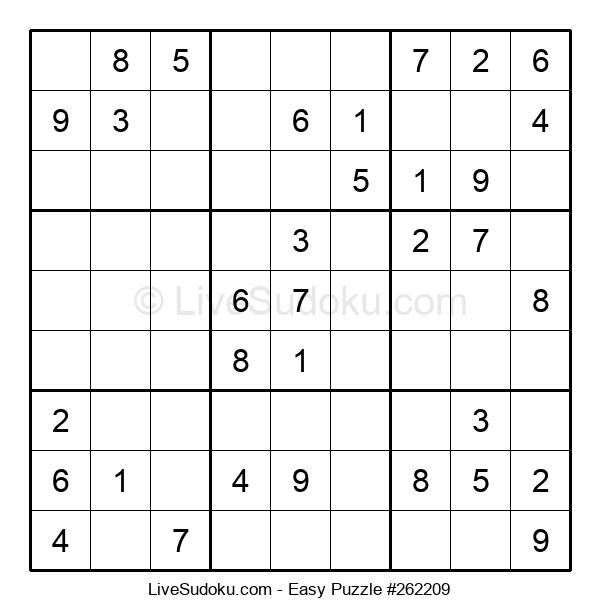 Beginners Puzzle #262209