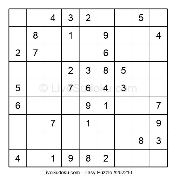 Beginners Puzzle #262210