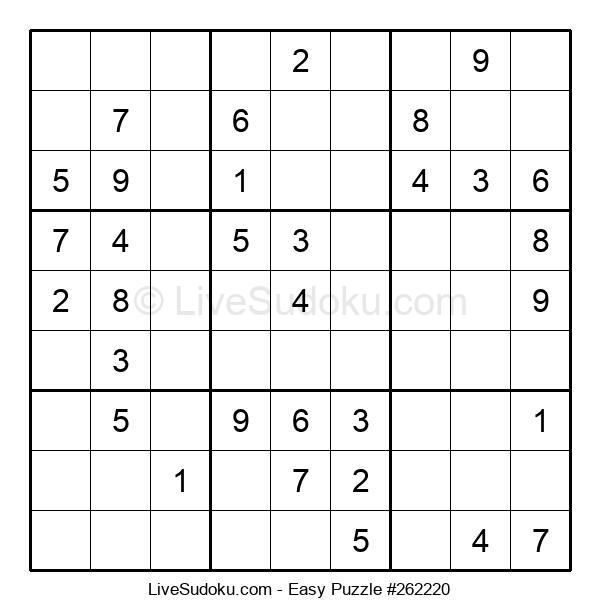Beginners Puzzle #262220