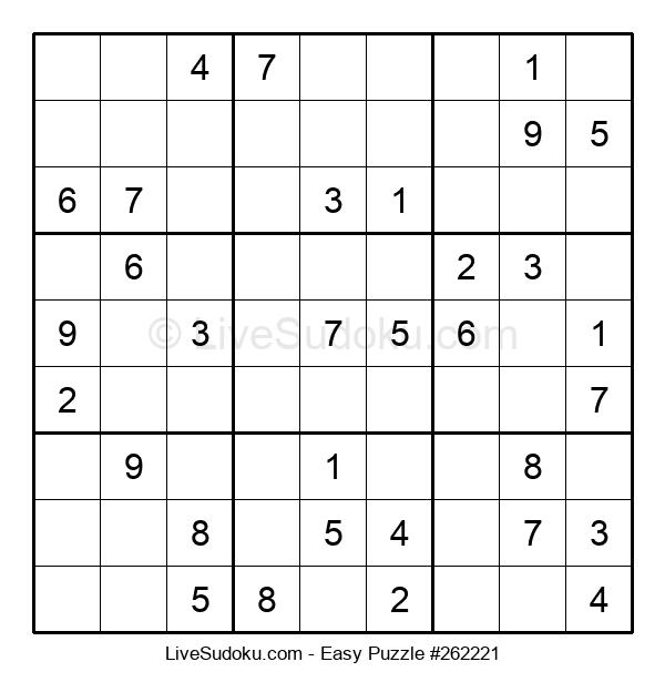 Beginners Puzzle #262221