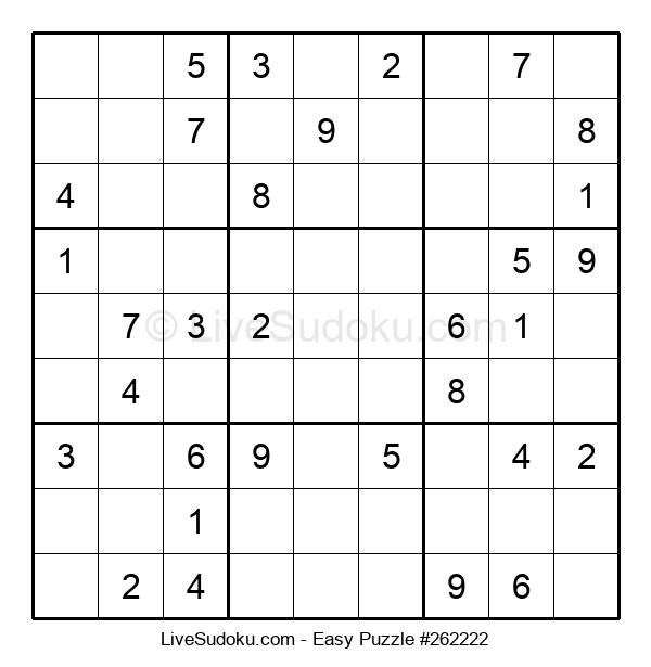 Beginners Puzzle #262222