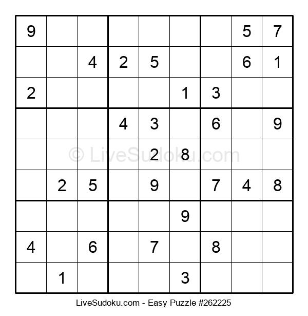 Beginners Puzzle #262225