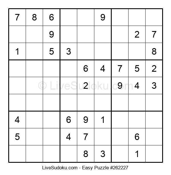Beginners Puzzle #262227