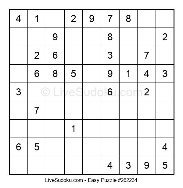 Beginners Puzzle #262234