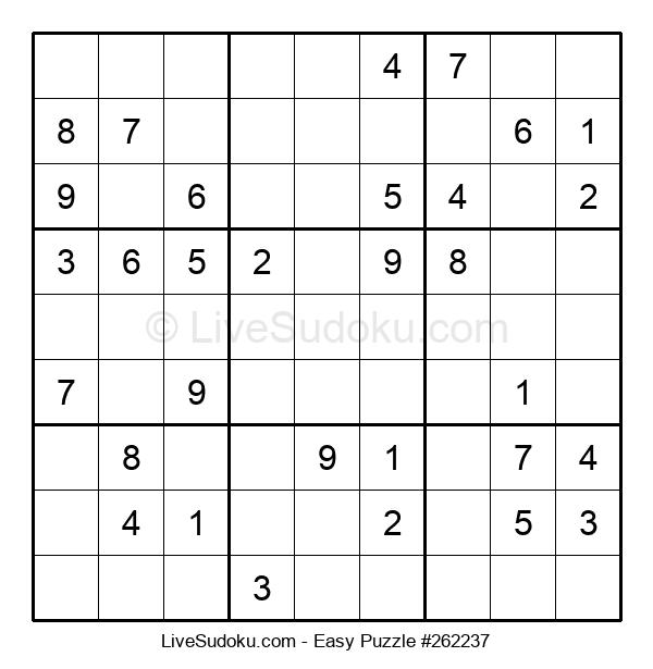 Beginners Puzzle #262237
