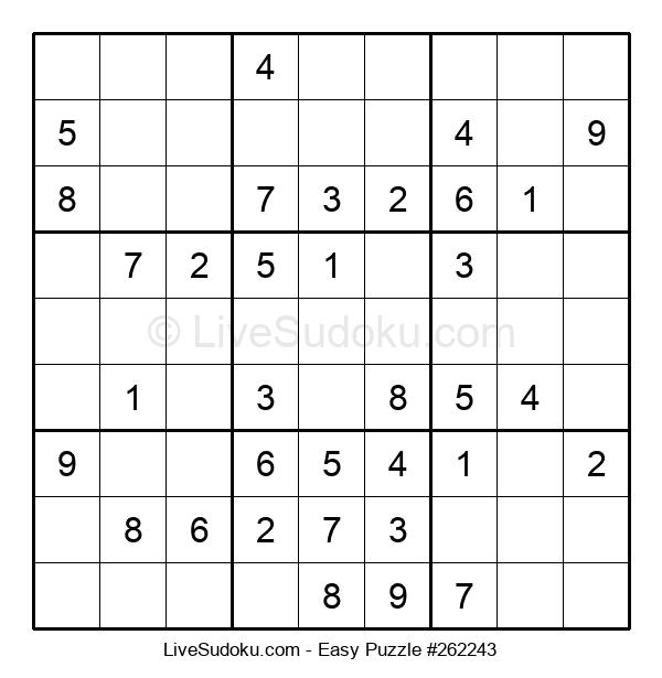 Beginners Puzzle #262243