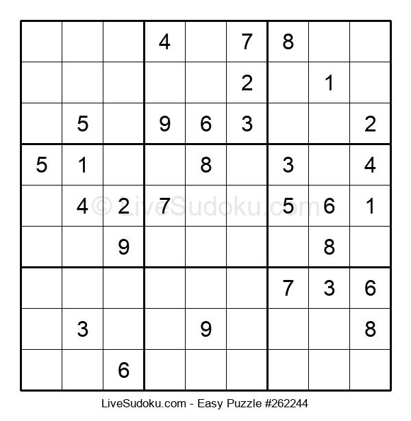 Beginners Puzzle #262244