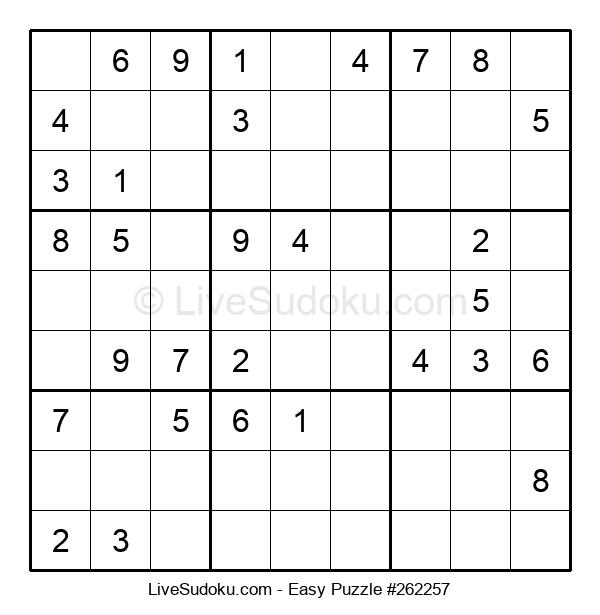 Beginners Puzzle #262257