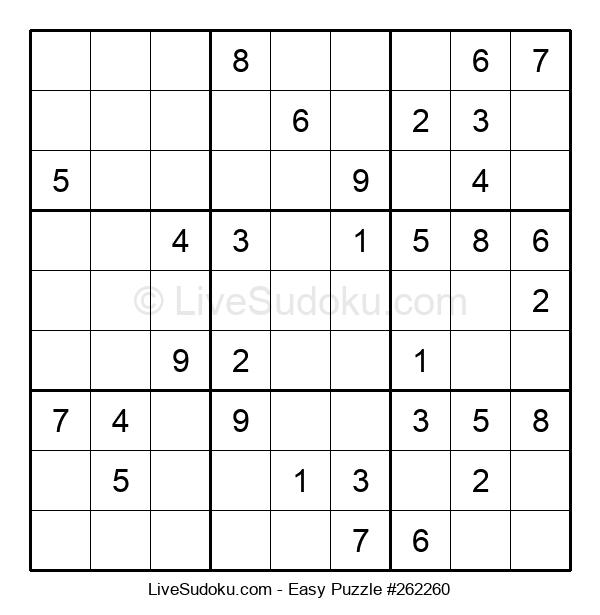 Beginners Puzzle #262260
