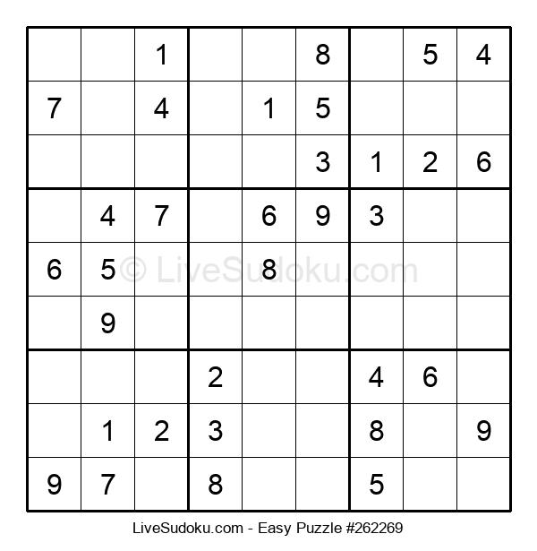 Beginners Puzzle #262269