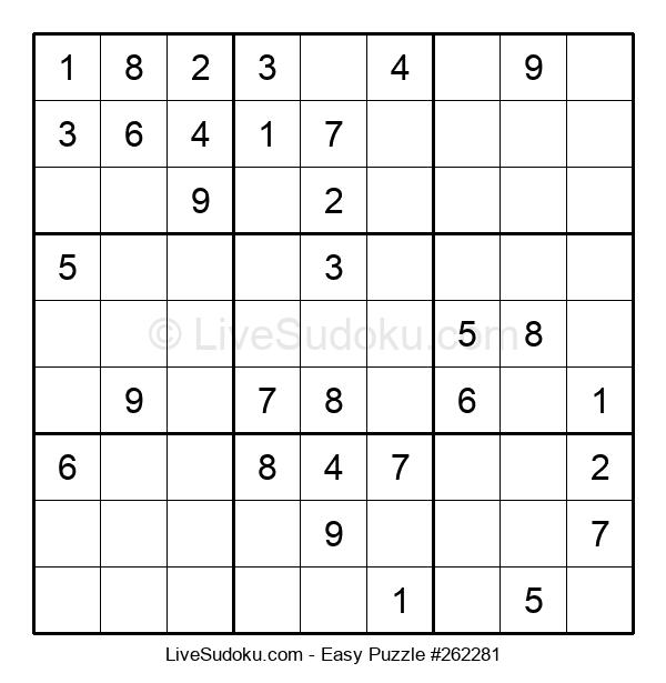 Beginners Puzzle #262281