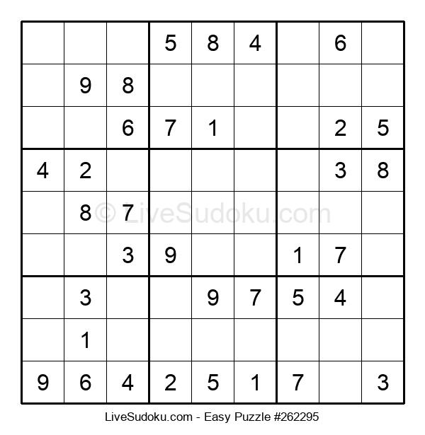 Beginners Puzzle #262295