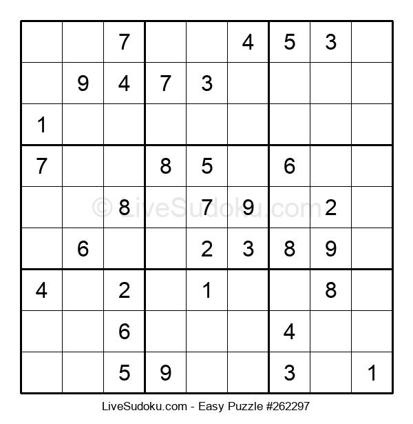 Beginners Puzzle #262297