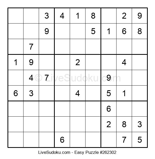 Beginners Puzzle #262302