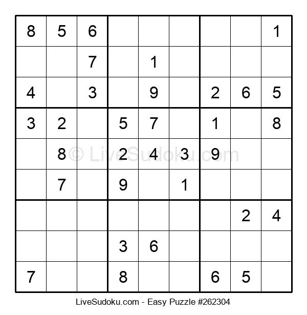 Beginners Puzzle #262304